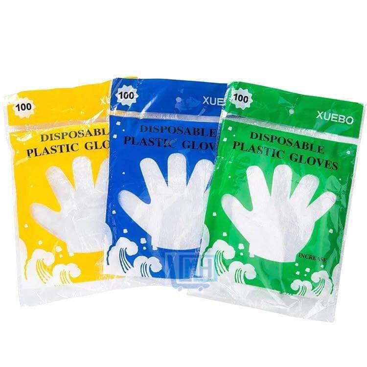 Găng tay nilon vệ sinh thực phẩm