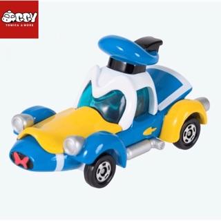 Xe mô hình Disney Tomica Donald Racing