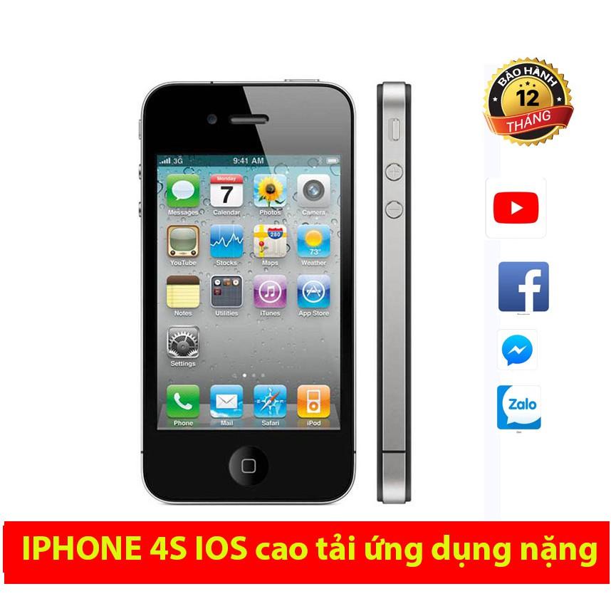 Điện thoại Iphone 4S - cảm ứng 8G/16G quốc tế chính hãng giá rẻ