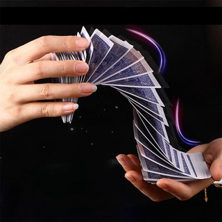 NBY❤❤Electric deck magic props card magic trick stage acrobatics waterfa