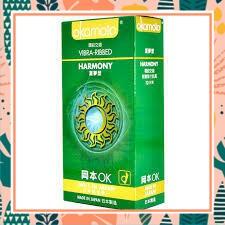 (SALE CỰC HOT)Hộp 10 BAO CAO SU OKAMOTO HARMONY Có Gai Sọc mềm mại