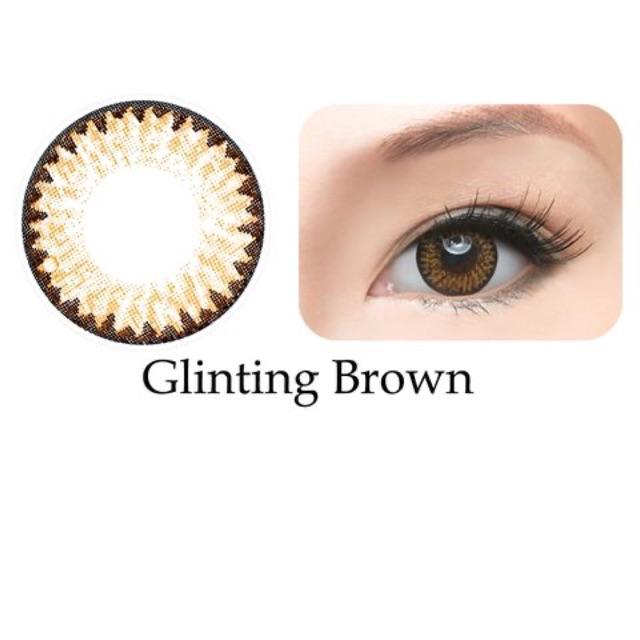 Kính áp tròng Freshkon Colors Fusion 3 tháng – Glinting Brown