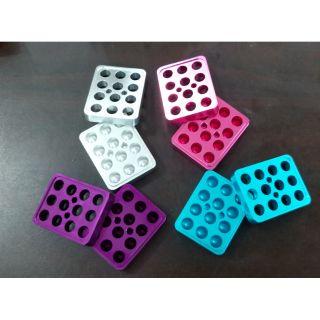 Khuôn Son Mini 12 lỗ Nhiều Màu Siêu Yêu Tặng kèm Hộp 12 Vỏ Son Mini và 1 Thanh Đẩy Son Thừa thumbnail