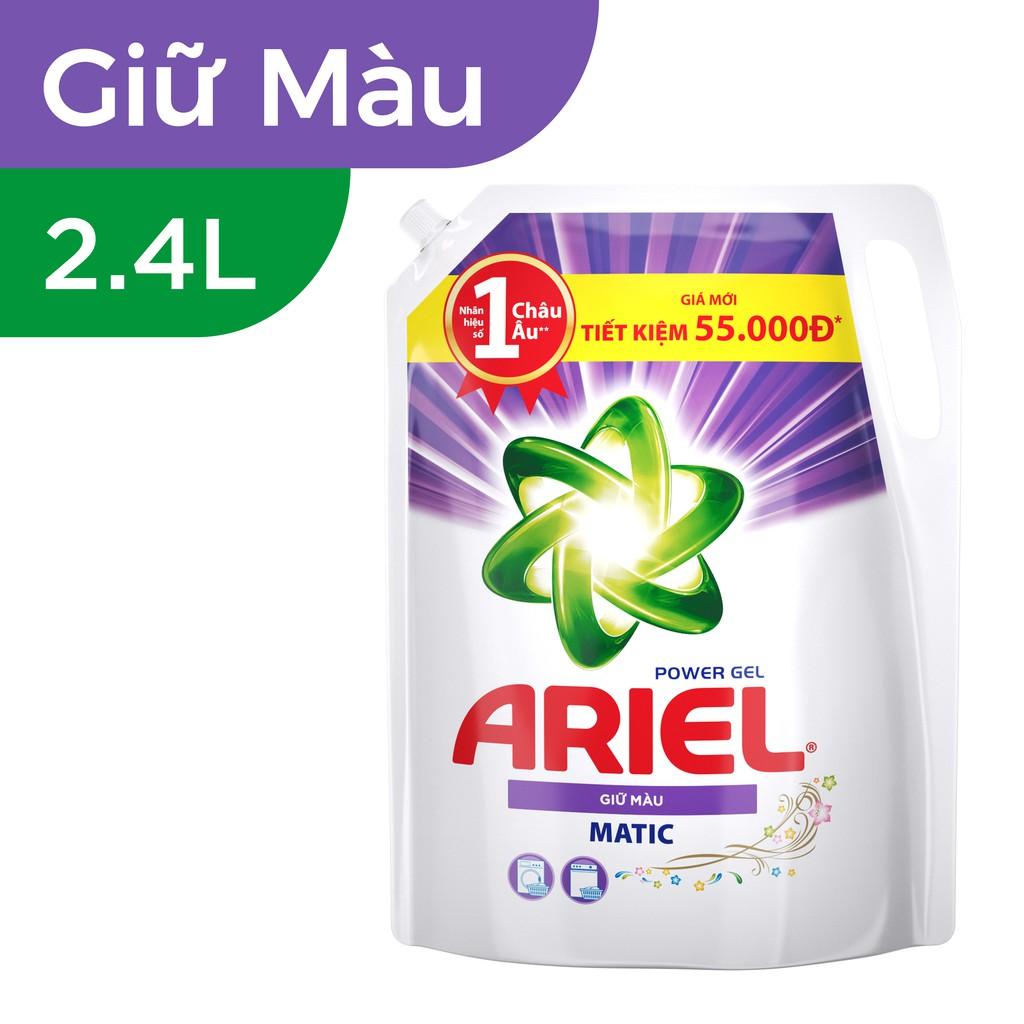 Ariel Giữ Màu nước giặt Túi 2.4L