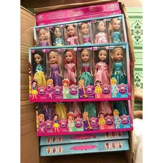 Hộp 6 búp bê công chúa cho bé