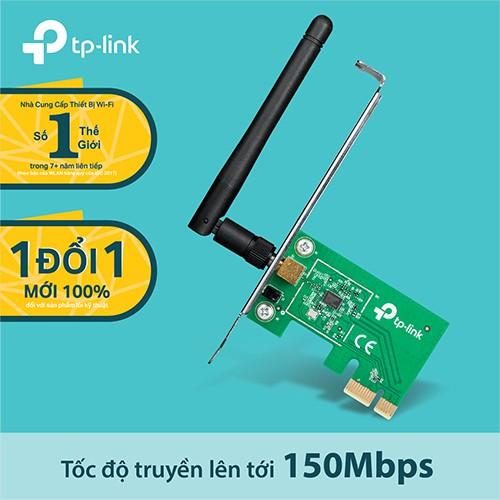 TP-Link - TL-WN781ND Bộ chuyển đổi không dây PCI Express tốc độ 150Mbps - 10001035 , 1041702039 , 322_1041702039 , 199000 , TP-Link-TL-WN781ND-Bo-chuyen-doi-khong-day-PCI-Express-toc-do-150Mbps-322_1041702039 , shopee.vn , TP-Link - TL-WN781ND Bộ chuyển đổi không dây PCI Express tốc độ 150Mbps