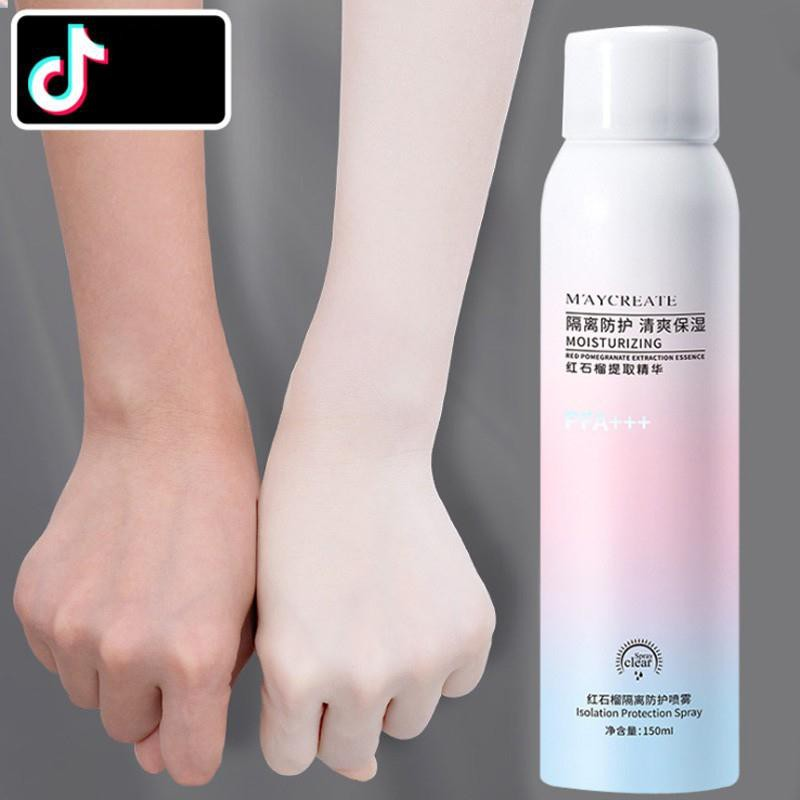 Xịt chống nắng Maycreate  SX