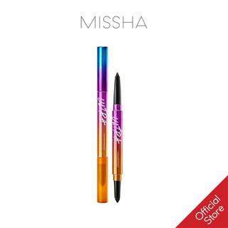 Chì Kẻ Mắt Không Trôi 2 Đầu Missha Ultra Powerproof Pencil Eyeliner 8g thumbnail