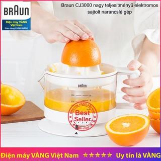 Máy vắt cam Hungary Braun CJ3000 bảo hành 2 năm