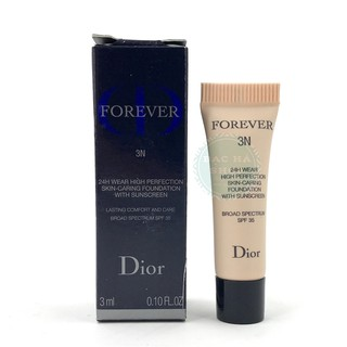 Dior Kem Nền Forever 24h Wear High Perfection 3N 3ml thumbnail