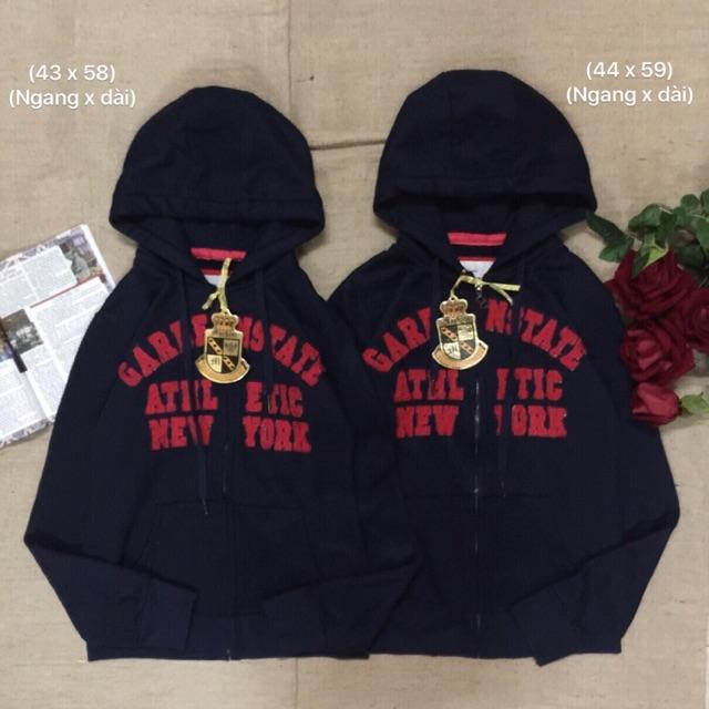 Combo 2 áo hoodie zipper xanh đen