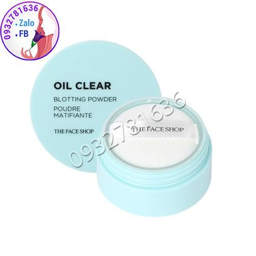 PHẤN PHỦ KIỀM DẦU DẠNG BỘT OIL CLEAR - 3070265 , 1057237538 , 322_1057237538 , 220000 , PHAN-PHU-KIEM-DAU-DANG-BOT-OIL-CLEAR-322_1057237538 , shopee.vn , PHẤN PHỦ KIỀM DẦU DẠNG BỘT OIL CLEAR