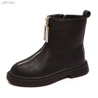 Giày Bốt Martin Cổ Thấp Thời Trang 2019 Cho Bé Gái