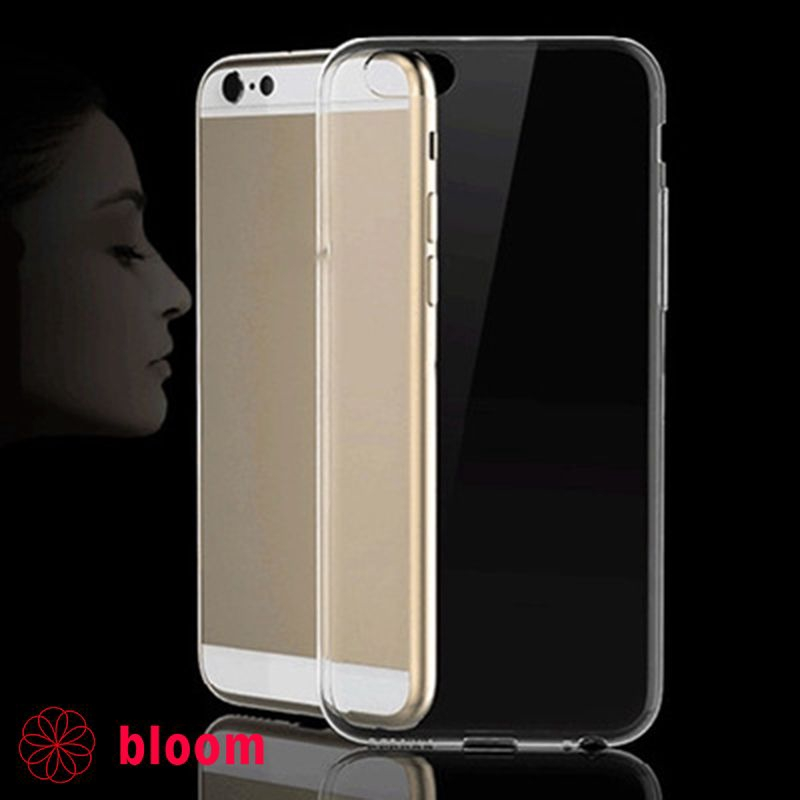 o Transparent Soft Clear Phone Back Shell Cover Case Protector Suit For Iphone 5C