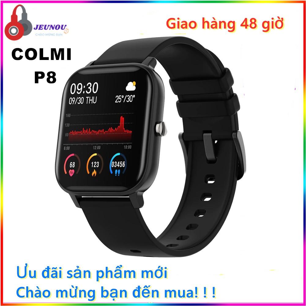 Đồng hồ thông minh Colmi P8 1.4 Inch hỗ trợ theo dõi sức khỏe thông báo Tiếng Việt