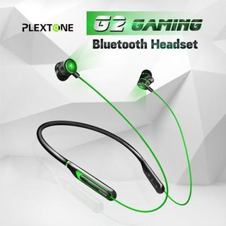 Tai nghe Bluetooth Gaming G2 PLEXTONE chuyên game Low Latency 65ms đèn LED Gaming 4 chế độ chính hãng