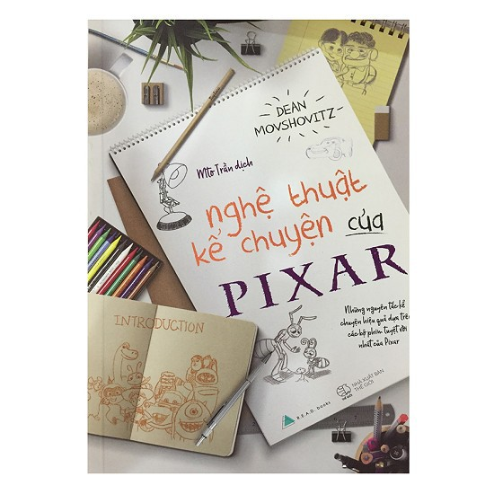 Sách - Nghệ Thuật Kể Chuyện Của Pixar - 3279796 , 630352002 , 322_630352002 , 82000 , Sach-Nghe-Thuat-Ke-Chuyen-Cua-Pixar-322_630352002 , shopee.vn , Sách - Nghệ Thuật Kể Chuyện Của Pixar