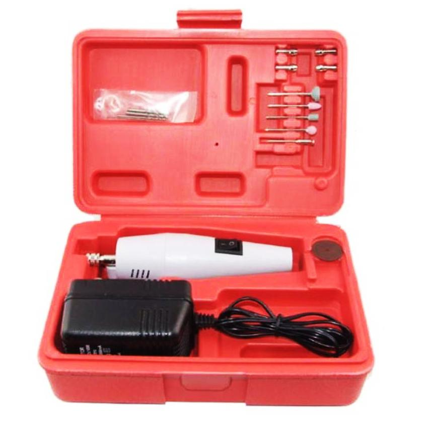 Máy khoan mini mạch điện tử hộp đỏ