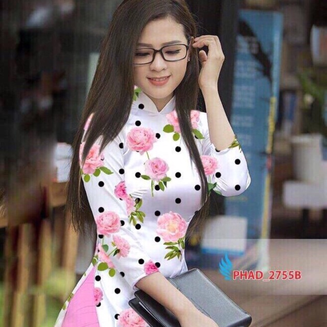Vải áo dài chấm bi in hoa - 9924612 , 1269830219 , 322_1269830219 , 220000 , Vai-ao-dai-cham-bi-in-hoa-322_1269830219 , shopee.vn , Vải áo dài chấm bi in hoa
