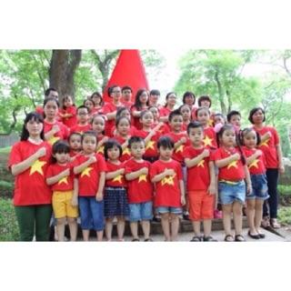 Áo cờ đỏ sao vàng trẻ em  Phương Nam