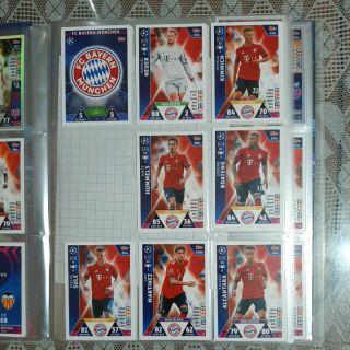 Thẻ Match Attax Champion League 18/19