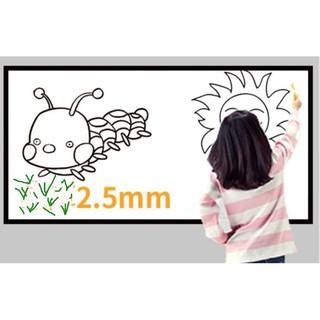 Decal dán tường bảng vẽ nam châm kèm bút + tẩy – whiteboard