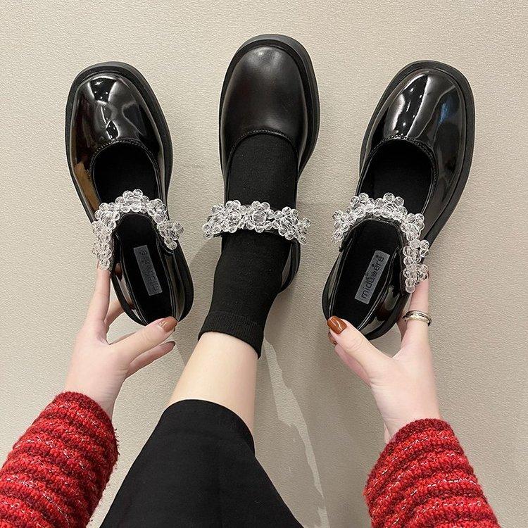 Giày Búp Bê Đế Bằng Mẫu 2021 Thời Trang Dành Cho Nữ