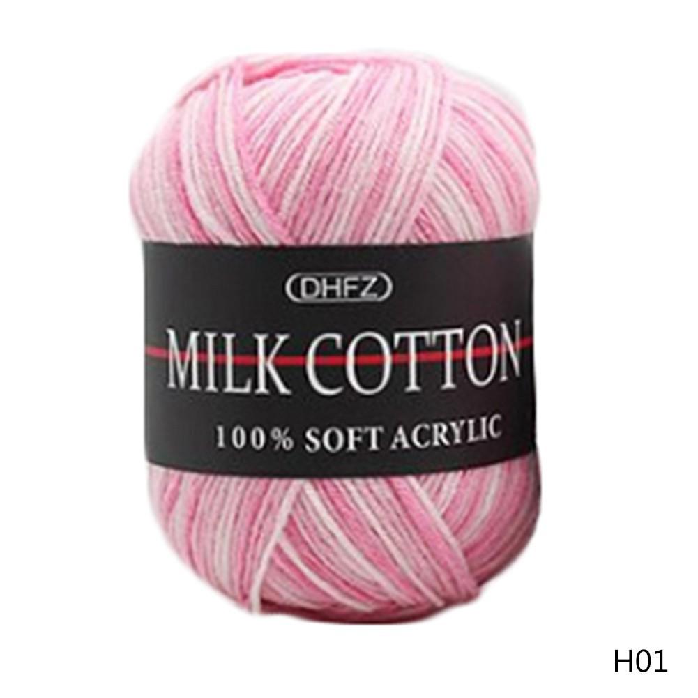 Cuộn len Milk Cotton nhiều màu 50g