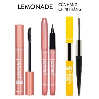 Combo trọn bộ trang điểm mắt LEMONADE gồm 01 Mascara 7.5g + 01 Eyeliner 1g + 01 Eyebrow 2.75g thumbnail