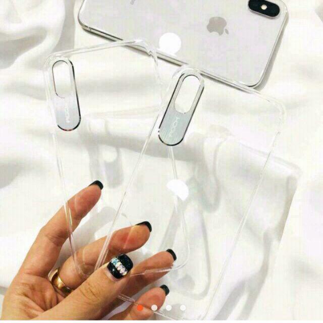 Ốp lưng Rock trong bảo vệ camera cho iPhone X