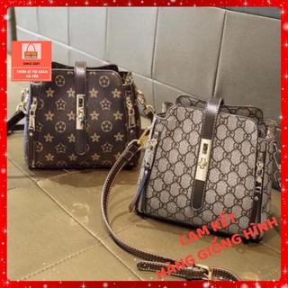 Túi xách nữ giá rẻ túi mini khoá viền Mẫu hot T2KVUONG (Không kèm gấu) Mẫu hot
