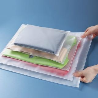 Túi zip lụa mờ – túi zipper đựng giày dép, quần áo, đồ lót, phụ kiện cá nhân chống thấm nước – đủ 5 size