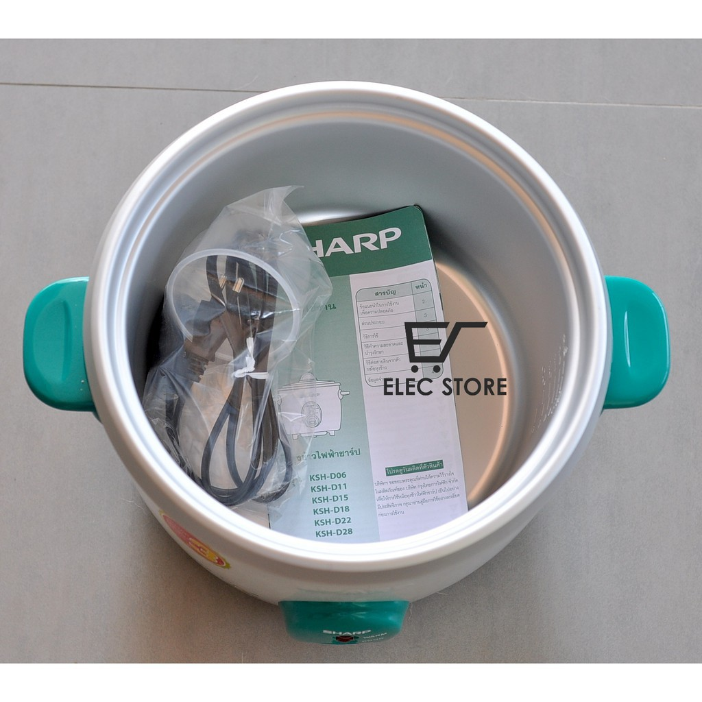 Nồi cơm điện Sharp nắp rời 2.2 Lít Thái Lan