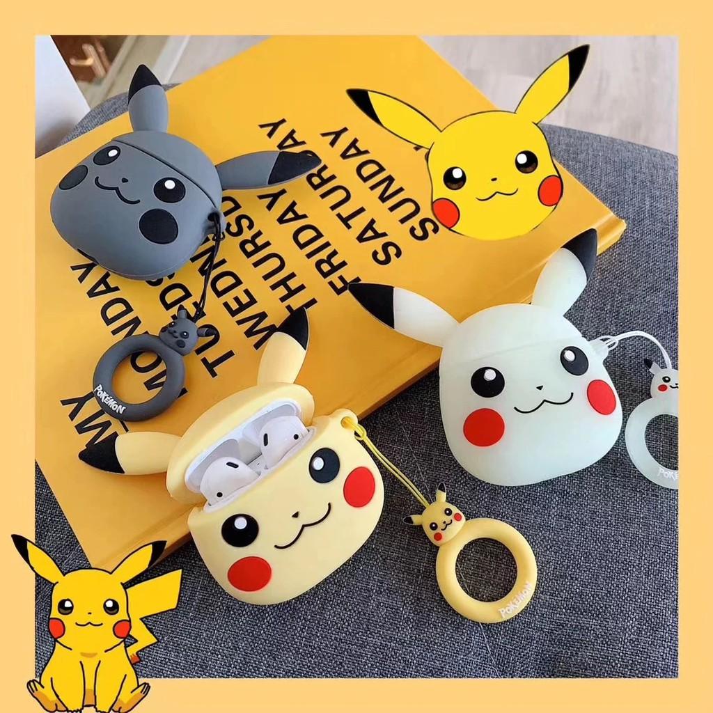 Hộp đựng tai nghe Pokemon Pikachu không dây Bluetooth cho Apple Airpods - 13892742 , 2303103088 , 322_2303103088 , 194000 , Hop-dung-tai-nghe-Pokemon-Pikachu-khong-day-Bluetooth-cho-Apple-Airpods-322_2303103088 , shopee.vn , Hộp đựng tai nghe Pokemon Pikachu không dây Bluetooth cho Apple Airpods