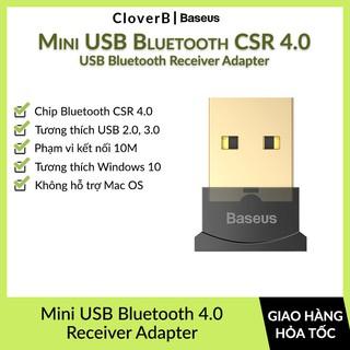 Mini USB Bluetooth Baseus CSR 4.0 Adapter cho máy tính, Laptop Windows, Loa, Tai Nghe, Bàn Phím Chuột, Gamepad Không Dây thumbnail
