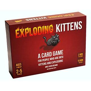 Exploding Kitten – Mèo nổ cơ bản