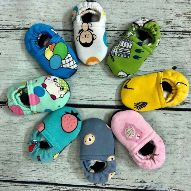 10 Đôi Giày Vải Nỉ Bông Cho Bé Chất Nỉ Lì Hàng Dày Đẹp
