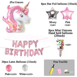 🍒better🍒1 Set Lovely Balloon Latex Birthday Decorations Kids Adults Party Favors