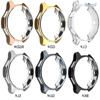 Wond TPU Case for Samsung Watches Classic Frontier Galaxy Watch Cover Frame 46mm Protective Bumper Shell Soft