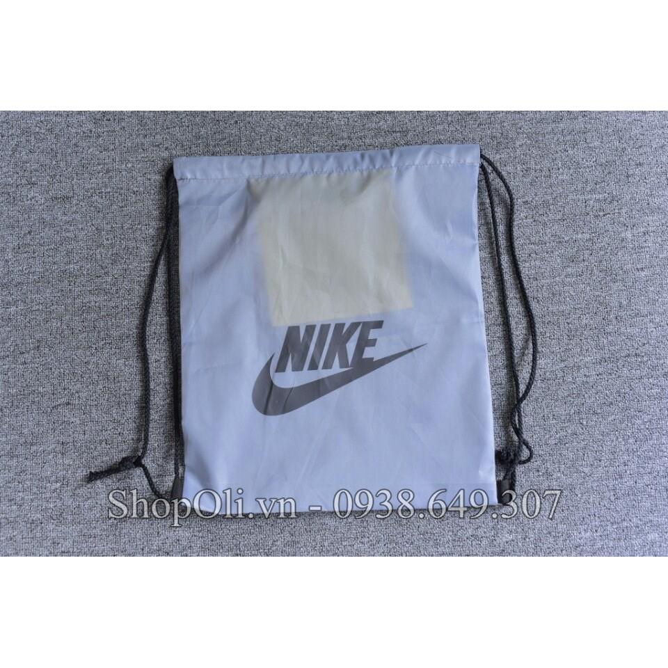 Túi rút đựng đồ thể thao màu xám