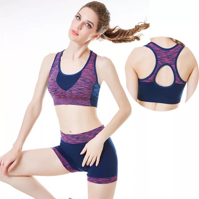 Bộ quần áo tập thể thao nữ AL363