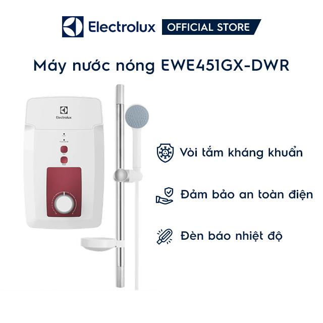 [Mã ELMIDNIGHT giảm 7% đơn 2TR] Máy nước nóng Electrolux EWE451GX-DWR