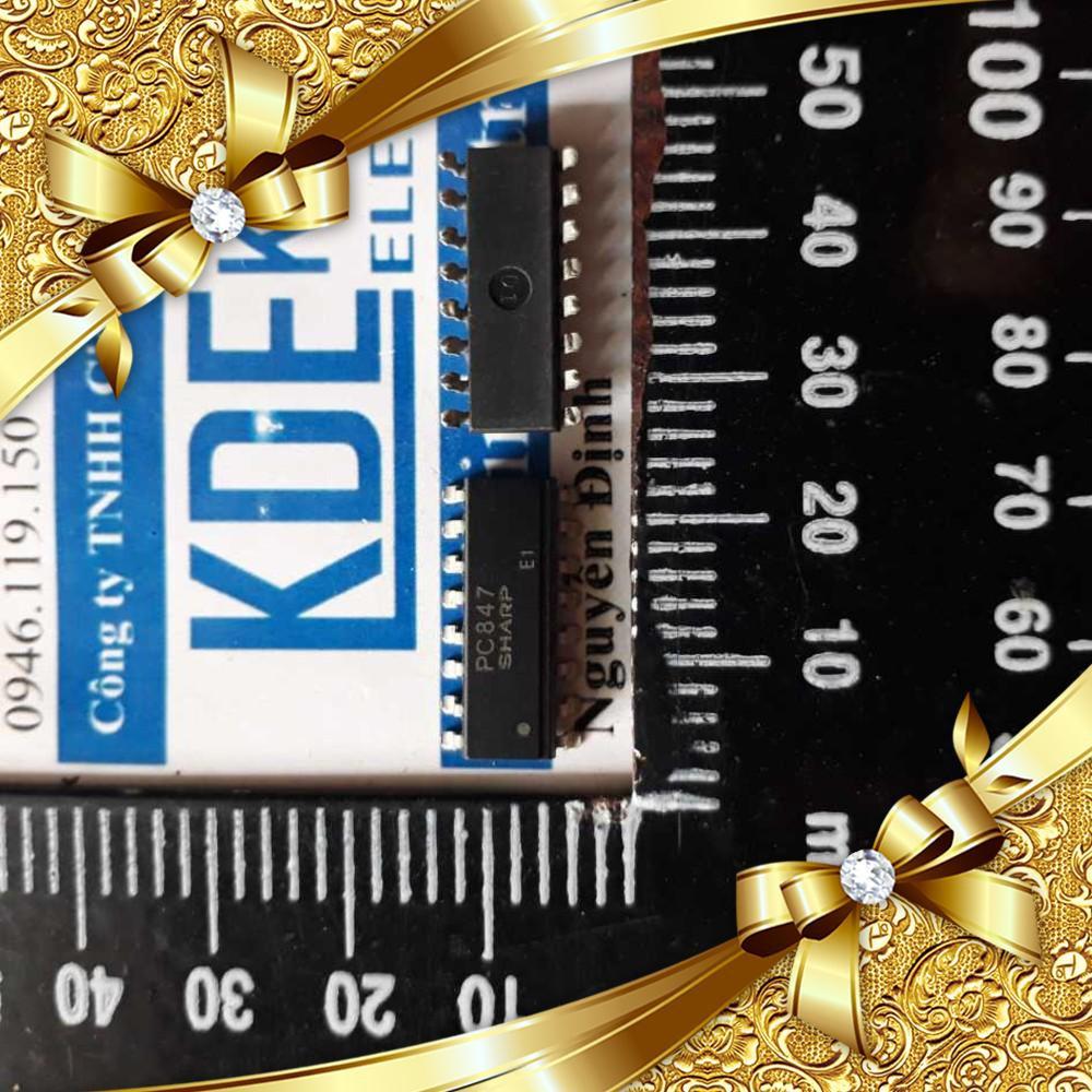 [CỰC ĐẸP] PC847SOP-16, chân dán IC PC817x4 opto (5 con) kde1459 CỰC ĐẸP.