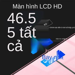 Cân điện tử Oaks, cân cân, cân cơ thể người nhỏ, chính xác và bền Cân gia đình năng lượng nhẹ có thể sạc lại được thumbnail