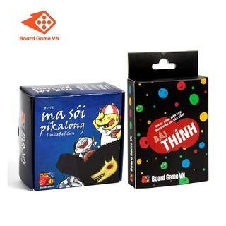 Combo Ma sói Pikalong và Bài Thính - BoardgameVN