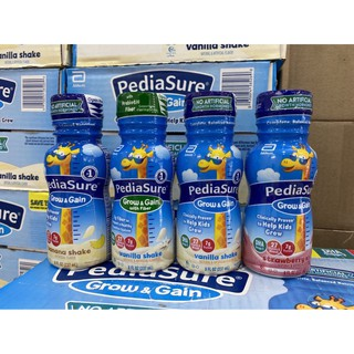 Sữa nước Pediasure đủ vị cho trẻ USA thùng 24 chai 237ml