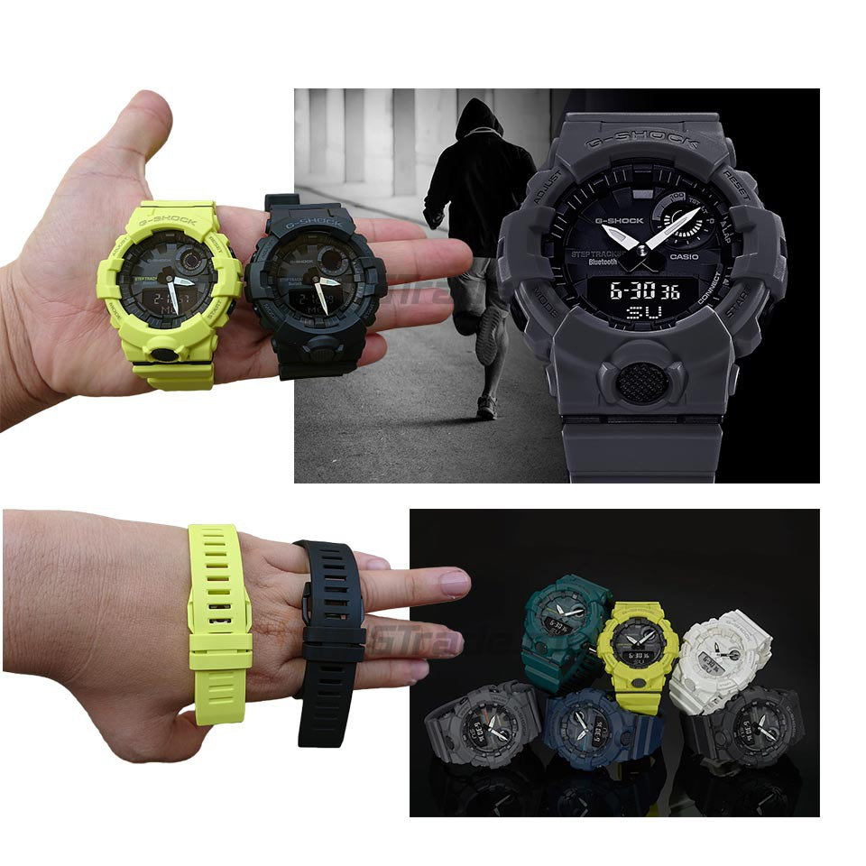 Đồng hồ nam G-SHOCK Casio Anh Khuê GBA-800-2ADR
