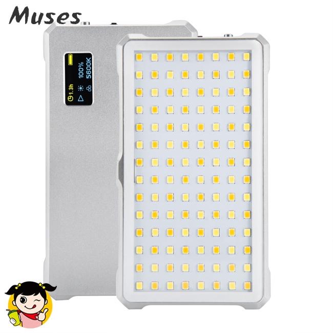 Litufoto F12 Mini LED Video Light Lamp 3200-5600K Brightness for Video Recording Professional Live
