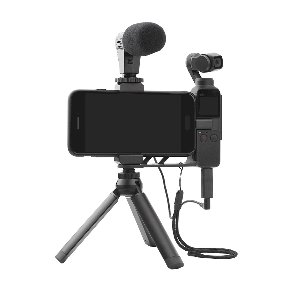 Recording Audio Adapter Portable Accessories Mini External Microphone Type C To 3.5mm For OSMO Pocket