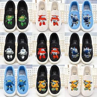 Giày Vải Canvas Thời Trang Xinh Xắn Cho Bé Trai